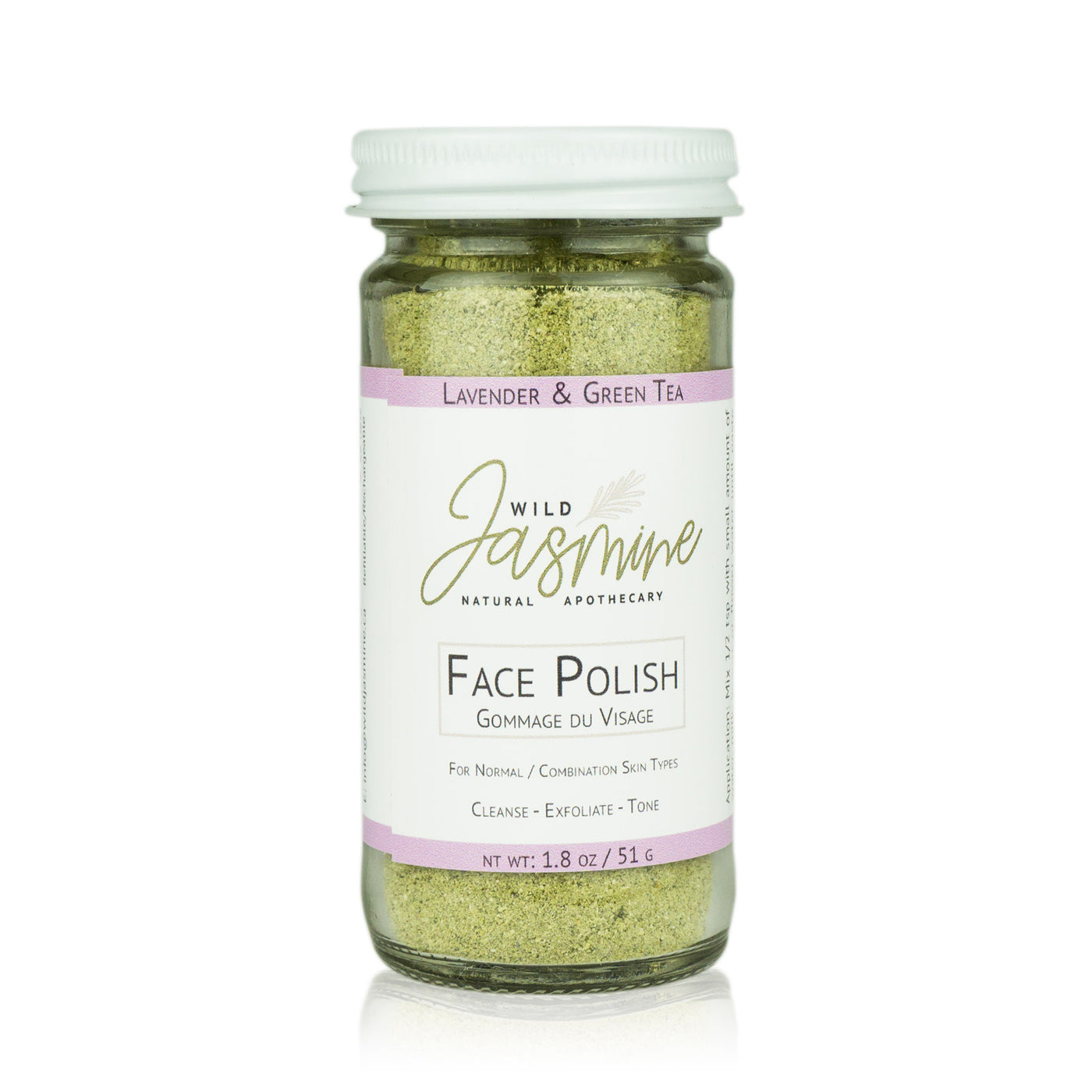 Face Polish - Lavender & Green Tea