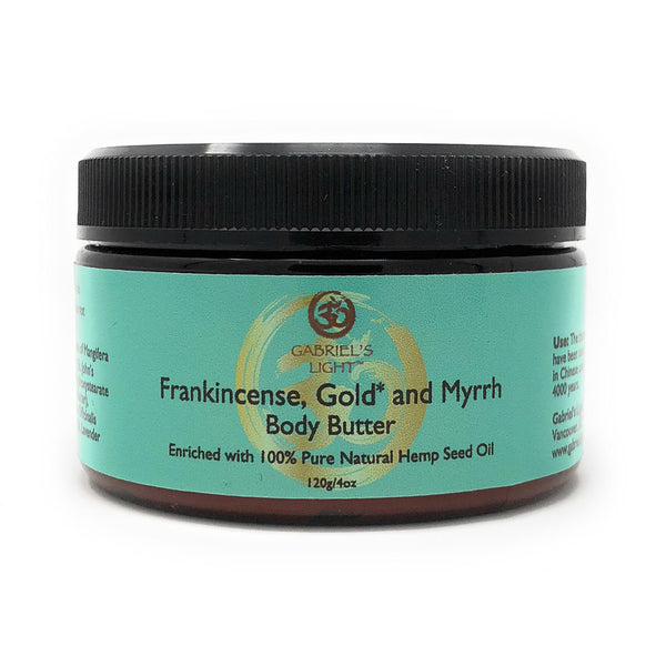 Body Butter - Frankincense, Gold & Myrrh