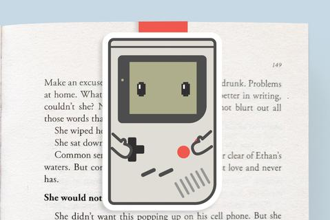 Game Boy Magnetic Bookmark