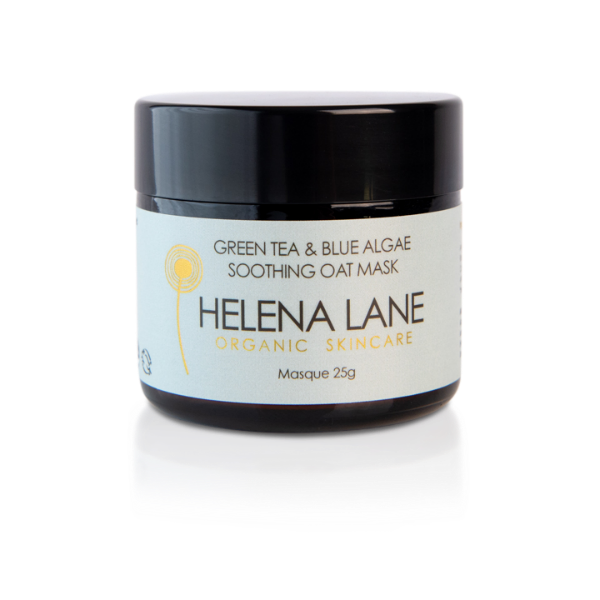 Green Tea & Blue Algae Soothing Oat Mask