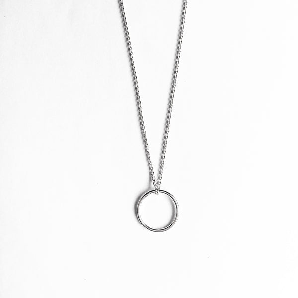 Simple Shapes Necklace - Circle