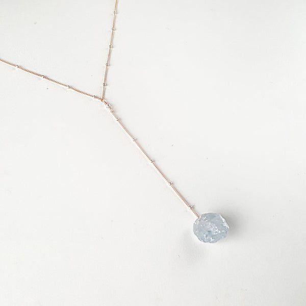 Intuition Necklace - Celestite