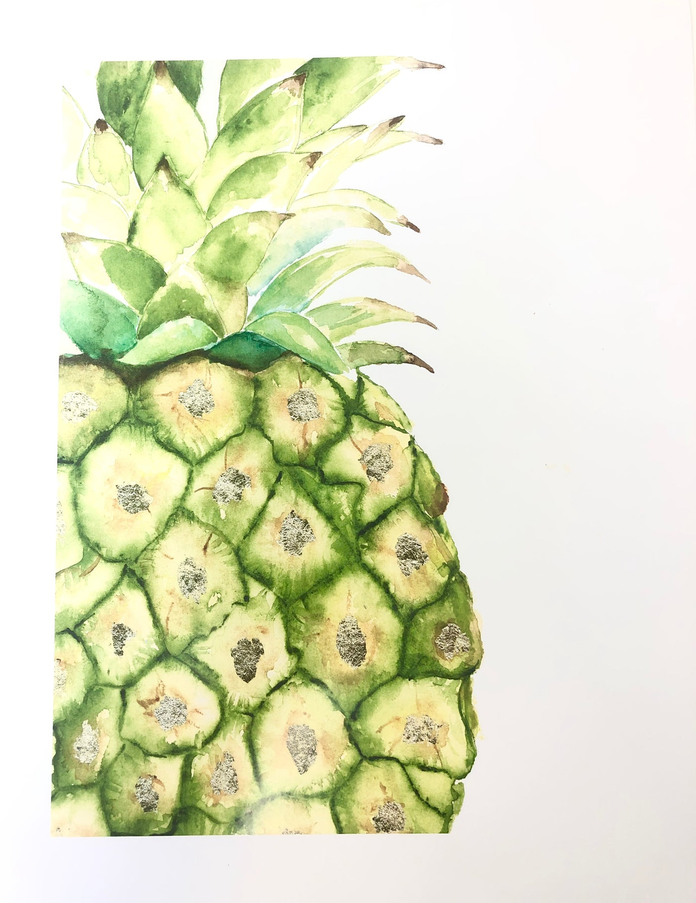 Botanicals Art Print - Pineapple