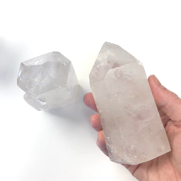 Clear Quartz Large Crystal Point