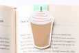 CraftedVan - Iced Coffee Magnetic Bookmark