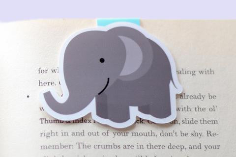 Elephant Magnetic Bookmark
