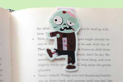 CraftedVan - Zombie Magnetic Bookmark