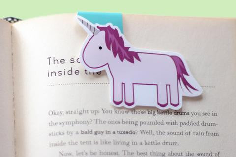 CraftedVan - Unicorn Magnetic Bookmark