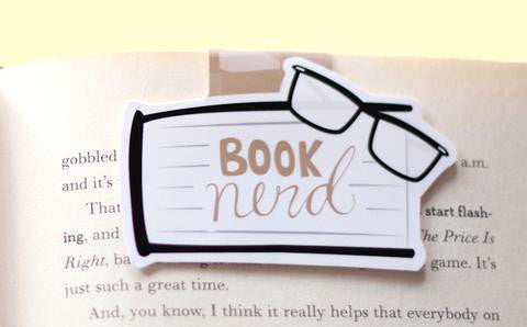 CraftedVan - Booknerd Magnetic Bookmark