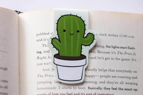 CraftedVan - Cactus Magnetic Bookmark