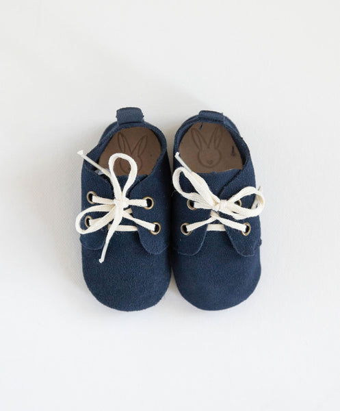 Jericho Baby Shoes - Navy