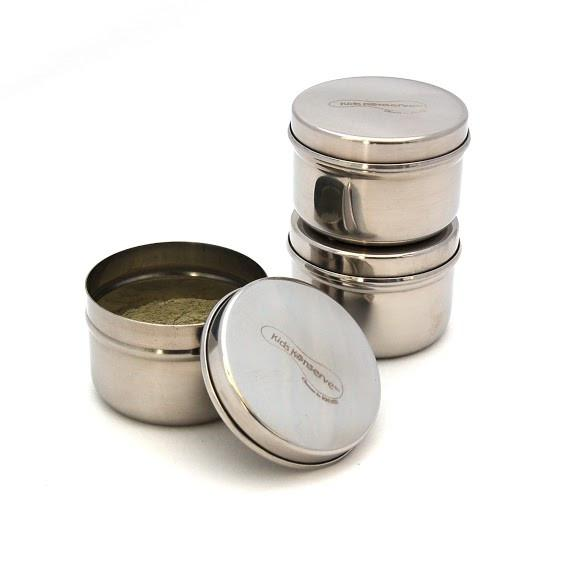 Set of 3 Mini Food Containers