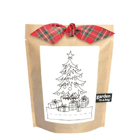 Kids Christmas Tree in a Bag