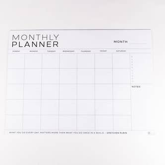 Large Monthly Planner