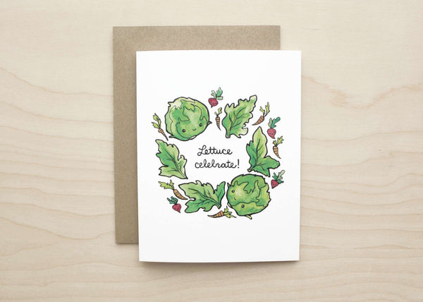 Art+Soul - Lettuce Celebrate! Card