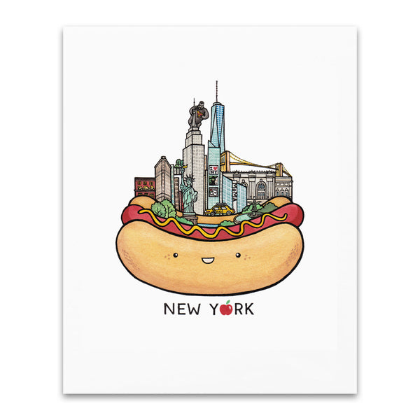 City Series Art Print - New York