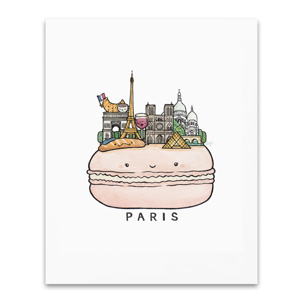 Art + Soul - CIty Series: Paris Print