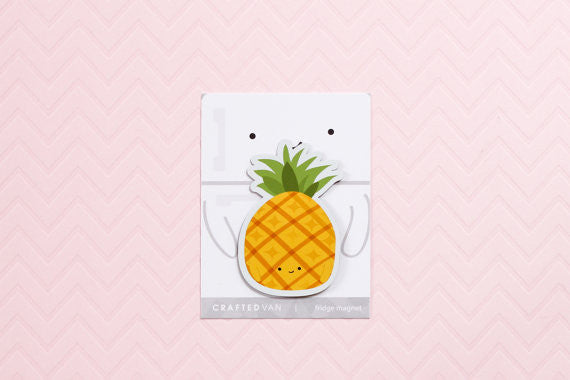 CraftedVan - Pineapple Magnet
