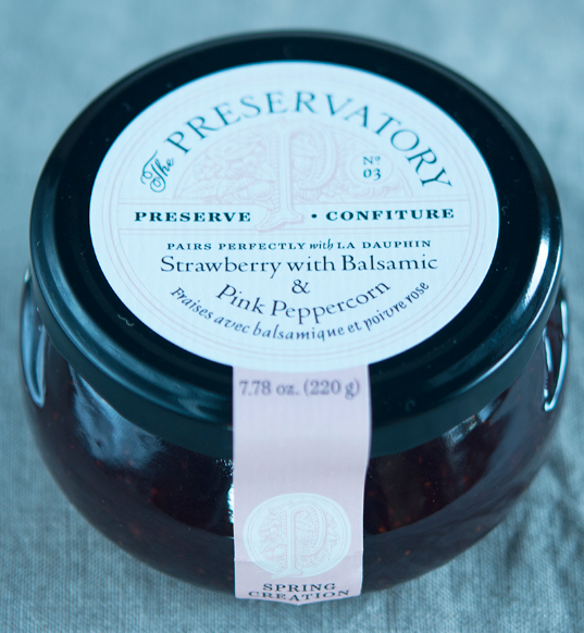 Strawberry Balsamic & Pink Peppercorn Preserves