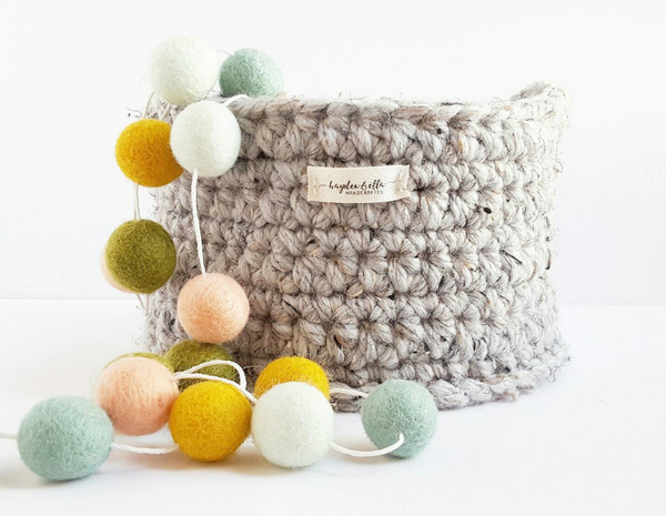 Hand Crochet Storage Basket