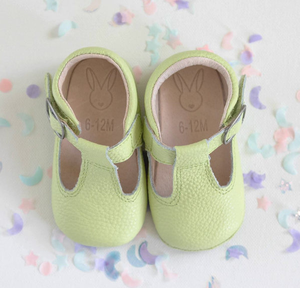Aston Baby Shoes - Sage