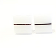 Minimalist Square Resin Stud Earrings
