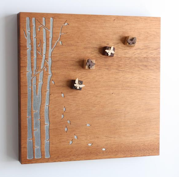 Wooden Nature Magnets