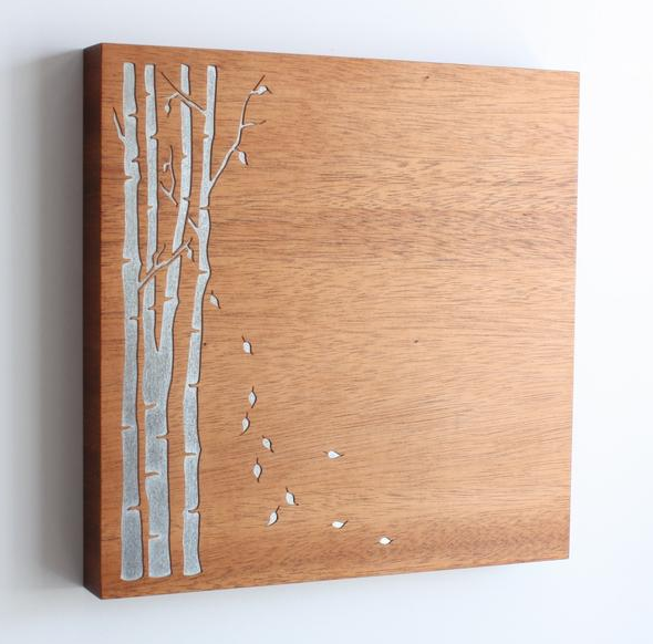 Magnet Board - Birch Tree