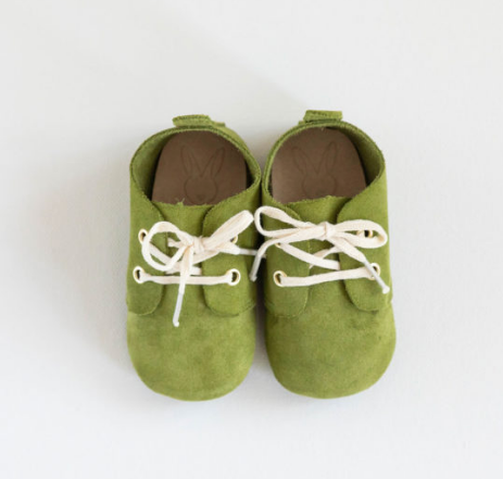 Jericho Baby Shoes - Olive