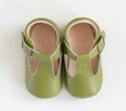 Aston Baby Shoes - Olive