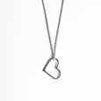 Simple Shapes Heart Necklace