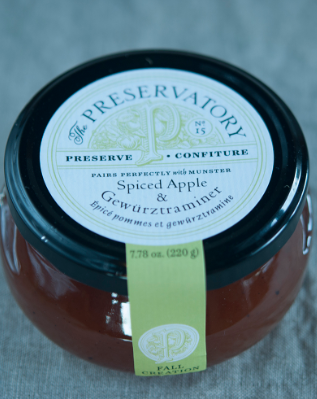Spiced Apple and Gewurztraminer Preserves