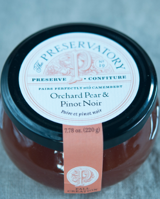 Orchard Pear & Pinot Noir Preserves