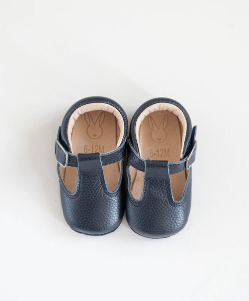 Shaughnessy Baby Shoes - Navy