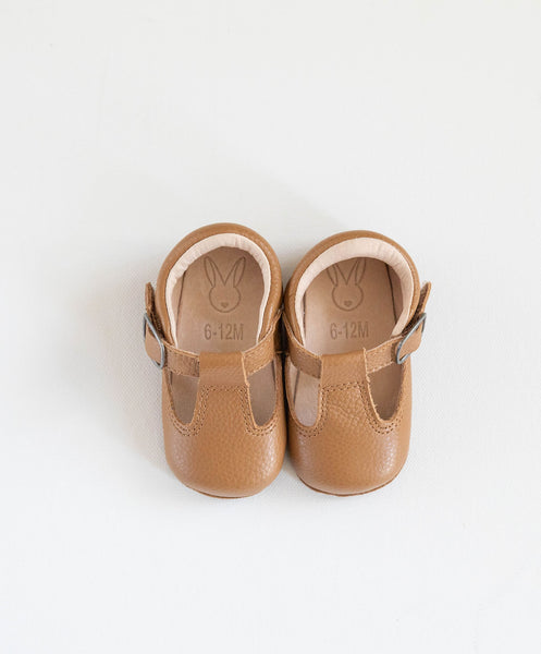 Shaughnessy Baby Shoes - Tan