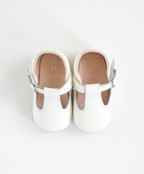 Shaughnessy Baby Shoes - White