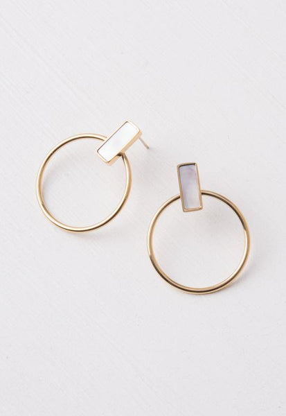 Adalee Mother-of-Pearl Earrings