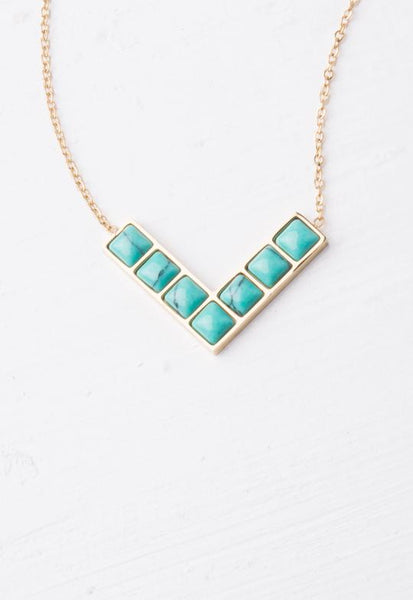 Ellis Turquoise Necklace