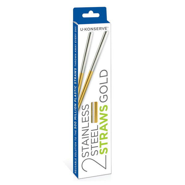 Stainless Steel Straws - Choice of Colours