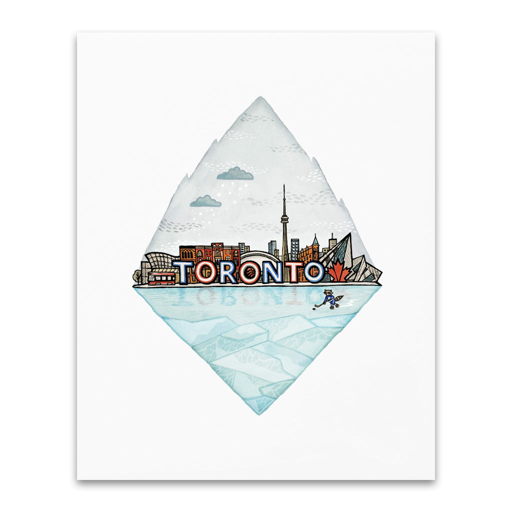 City Series: Toronto Art Print