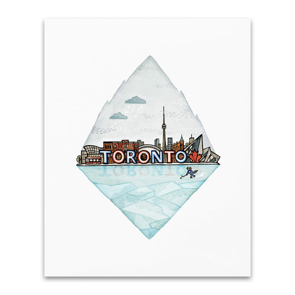 City Series Art Print - Toronto