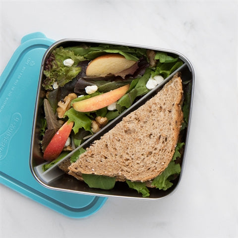 50 oz Stainless Steel Divided To-Go Container
