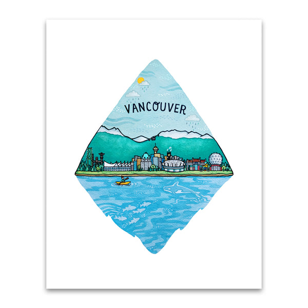 Art + Soul - CIty Series: Vancouver Print
