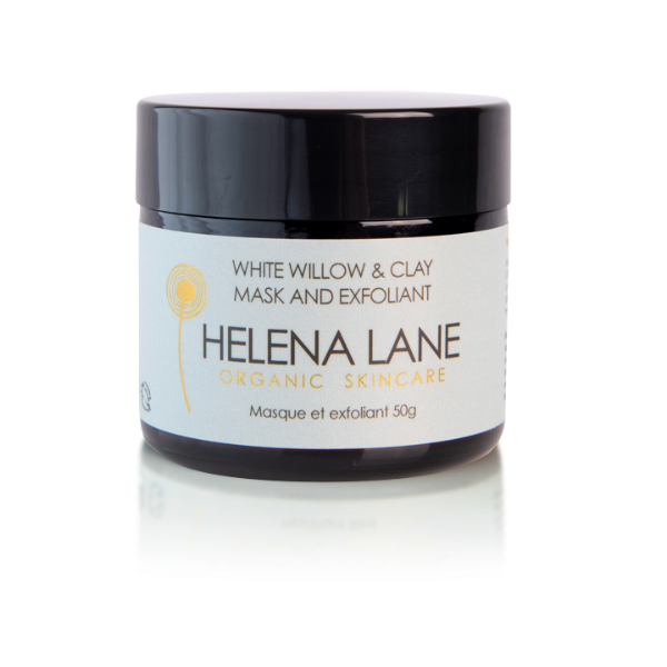 White Willow & Clay Facial Mask & Exfoliant