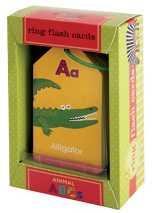 Animal ABC Ring Flash Cards