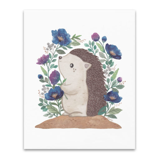 Herbert the Hedgehog Art Print