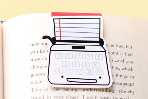 CraftedVan - Typewriter Magnetic Bookmark