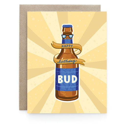 Birthday Bud Card