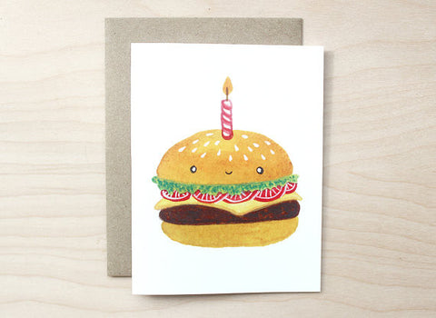 Art+Soul - Birthday Burger Card