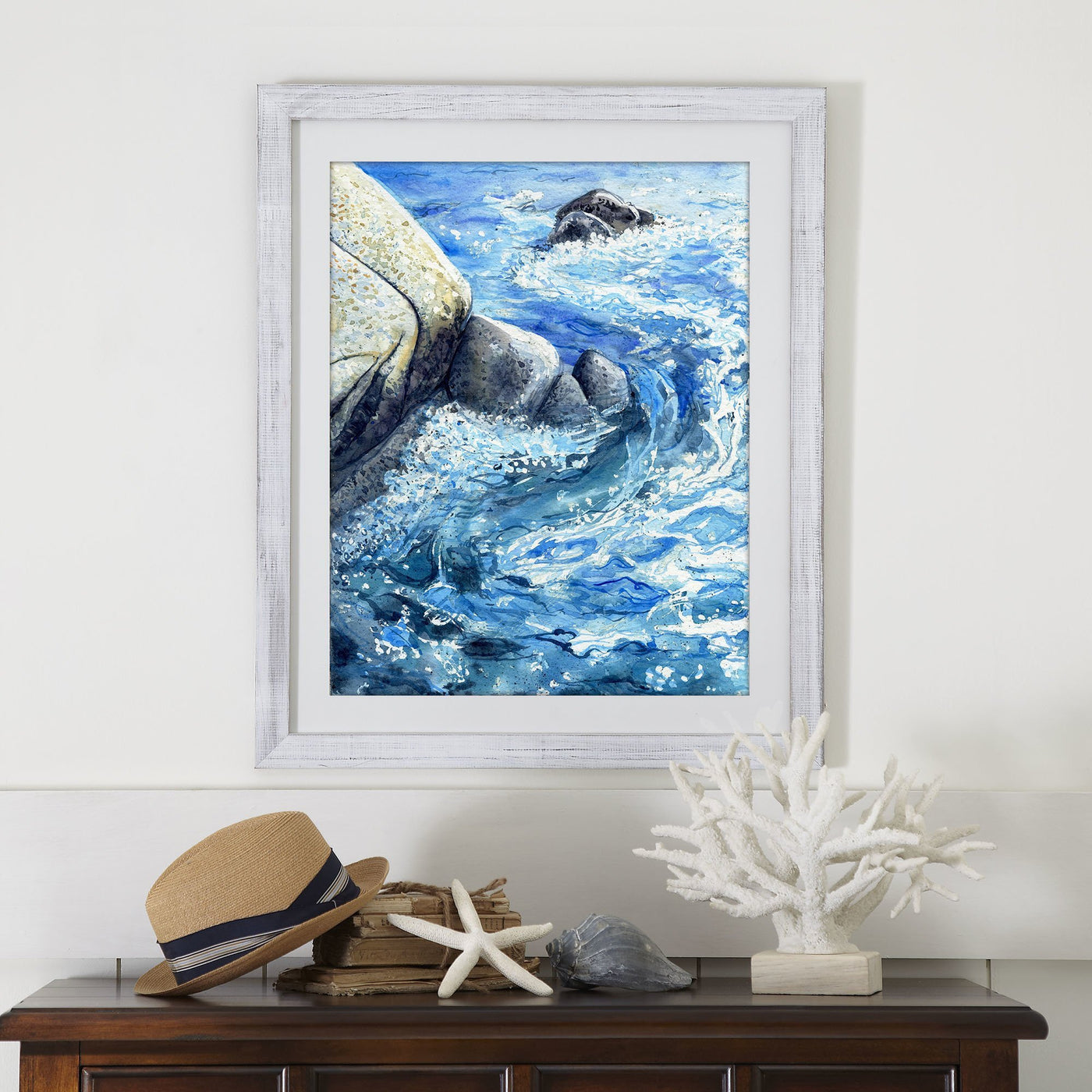 Ocean Art Print - By the Sea